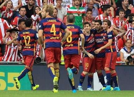 Athletic de Bilbao 0-1 Barcelona