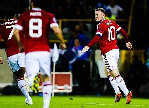 Brujas 0-4 Manchester United