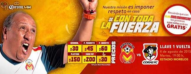 Morelia vs Coras de Tepic
