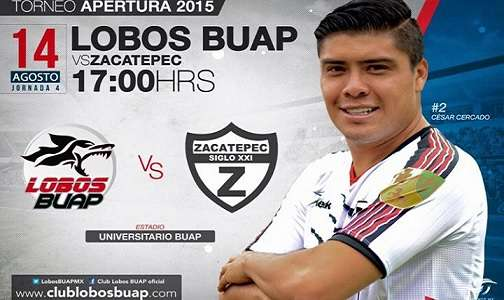 Lobos BUAP vs Zacatepec