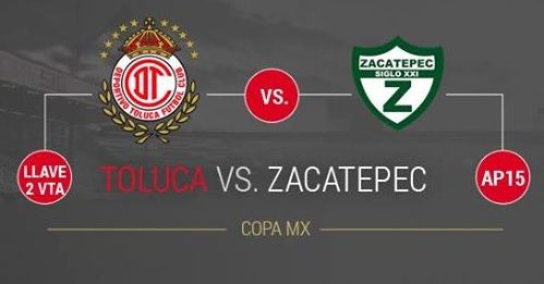 Toluca vs Zacatepec