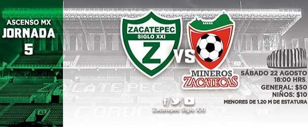 Zacatepec vs Mineros de Zacatecas