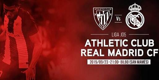 Athletic de Bilbao vs Real Madrid