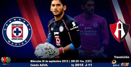 Cruz Azul vs Atlas