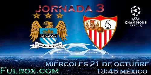 Manchester City vs Sevilla