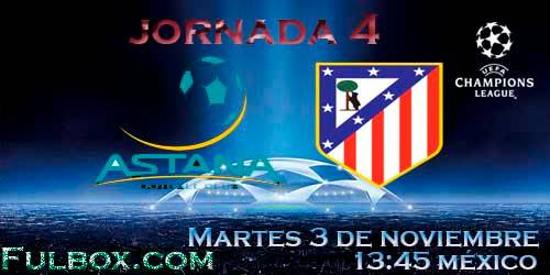 Astana vs Atlético de Madrid