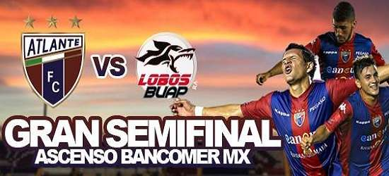 Atlante vs Lobos BUAP