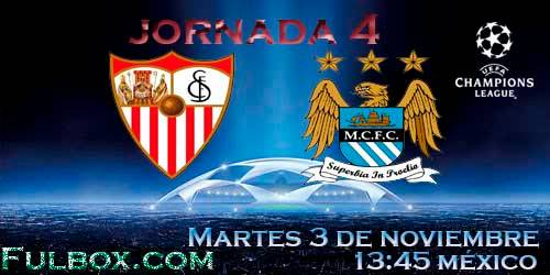 Sevilla vs Manchester City