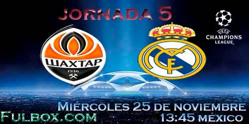 Shakhtar vs Real Madrid