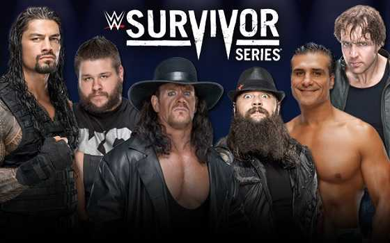 Survivor Series 2015 Peleas, Hora y Canal WWE Network