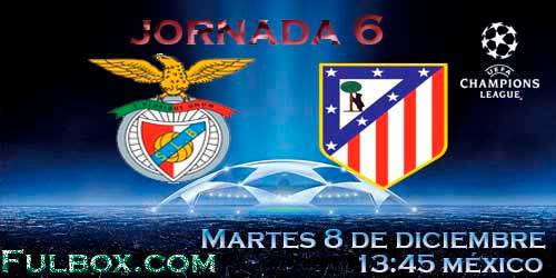 Benfica vs Atlético de Madrid