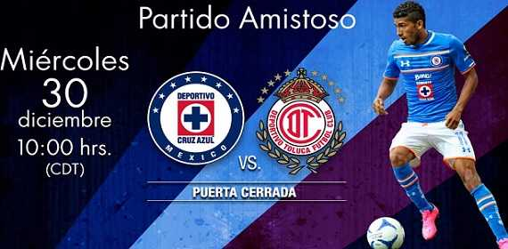Cruz Azul vs Toluca