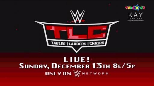 TLC Tables, Ladders, Chairs 2015 Hora y Canal WWE Network