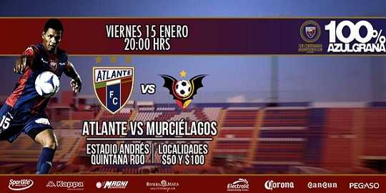 Atlante vs Murciélagos