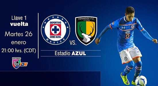 Cruz Azul vs Venados