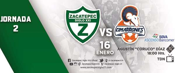 Zacatepec vs Cimarrones