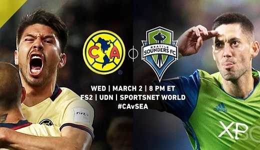 América vs Seattle Sounders