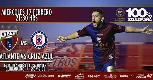 Atlante vs Cruz Azul