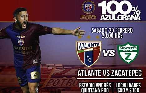 Atlante vs Zacatepec