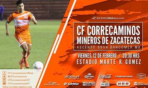 Correcaminos vs Mineros de Zacatecas