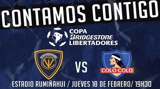 Independiente del Valle vs Colo Colo