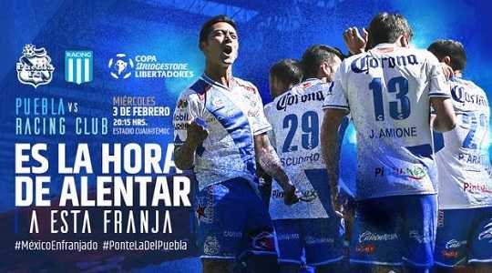 Puebla vs Racing