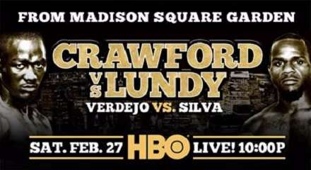 Terence Crawford vs Hank Lundy