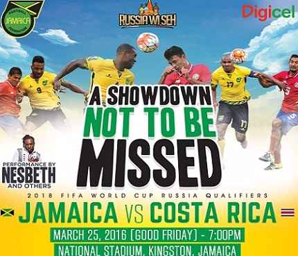 Jamaica vs Costa Rica