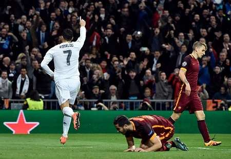 Real Madrid 2-0 Roma