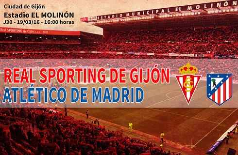 Sporting Gijón vs Atlético de Madrid