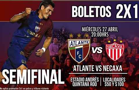 Atlante vs Necaxa