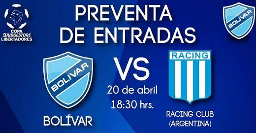 Bolívar vs Racing