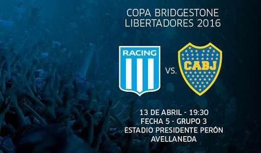 Racing vs Boca Juniors