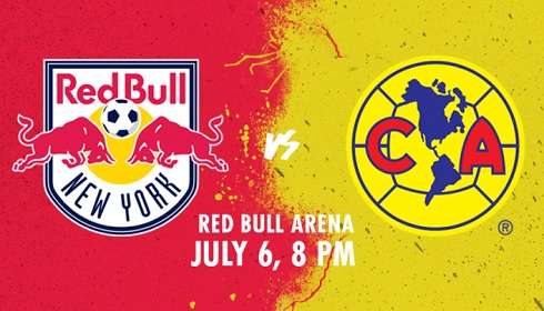 América vs New York Red Bulls
