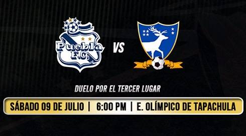 Puebla vs Suchitepéquez