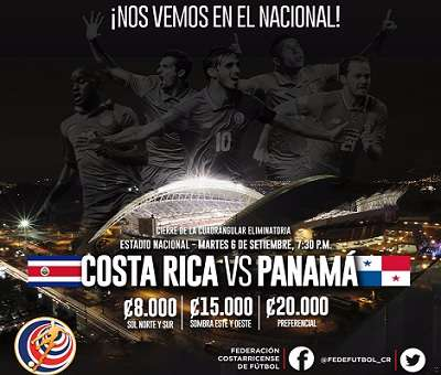 Costa Rica vs Panamá