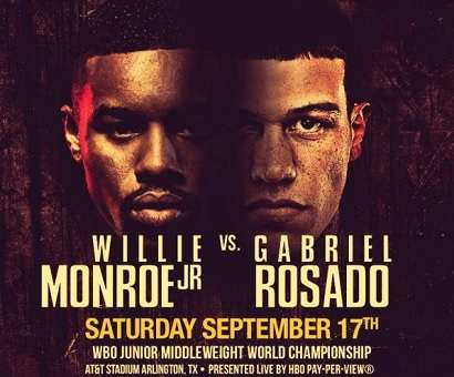Gabriel Rosado vs Willie Monroe