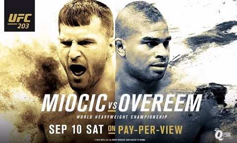 Stipe Miocic vs Alistair Overeem