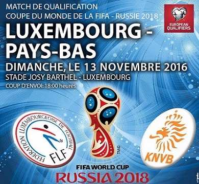 Luxemburgo vs Holanda