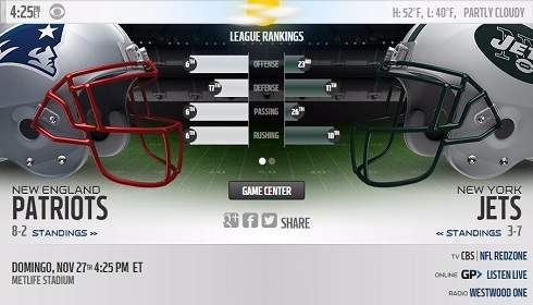 New England Patriots vs NY Jets