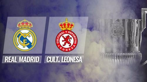 Real Madrid vs Cultural Leonesa