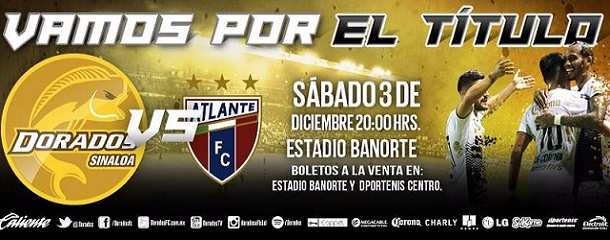 Dorados vs Atlante