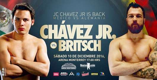 Julio Cesar Chavez Jr. vs Dominik Britsch