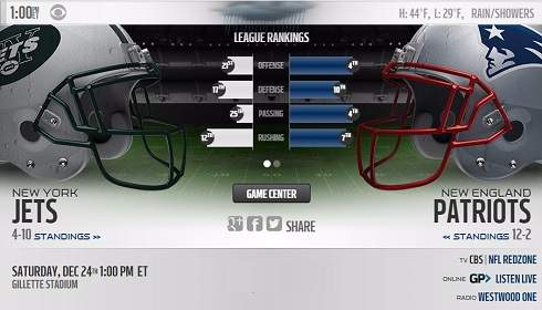 NY Jets vs New England Patriots