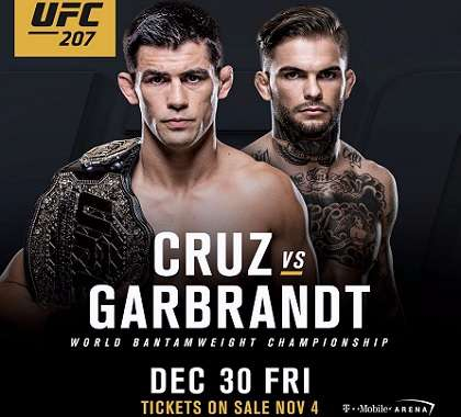 Dominick Cruz vs Cody Garbrandt