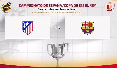 Atlético de Madrid vs Barcelona