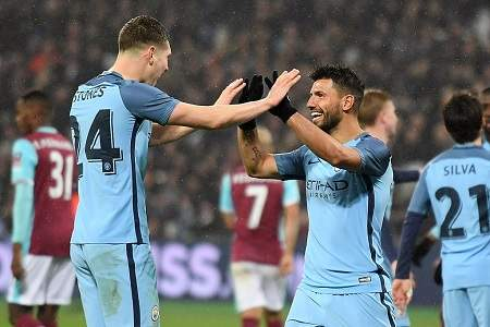 Manchester City golea 5-0 al West Ham