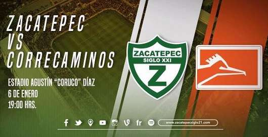 Zacatepec vs Correcaminos
