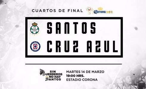 Santos vs Cruz Azul