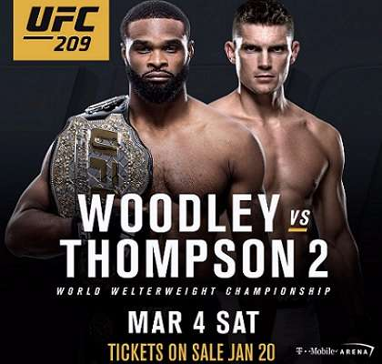 Tyron Woodley vs Stephen Thompson